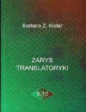 Okładka książki Zarys translatoryki