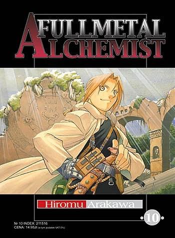 Okładka książki Fullmetal Alchemist t. 10