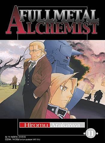 Okładka książki Fullmetal Alchemist t. 11