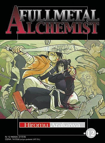 Okładka książki Fullmetal Alchemist t. 12