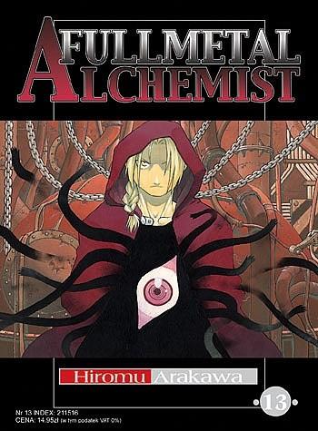 Okładka książki Fullmetal Alchemist t. 13