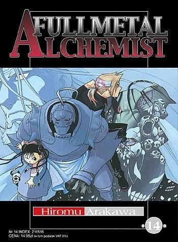 Okładka książki Fullmetal Alchemist t. 14