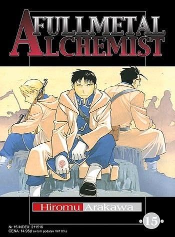 Okładka książki Fullmetal Alchemist t. 15