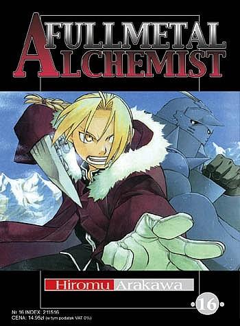 Okładka książki Fullmetal Alchemist t. 16