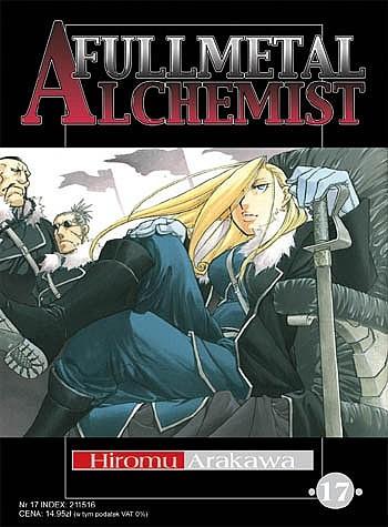 Okładka książki Fullmetal Alchemist t. 17