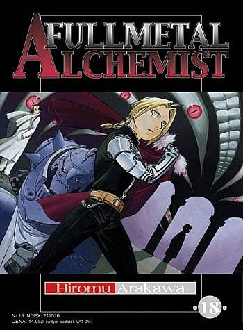 Okładka książki Fullmetal Alchemist t. 18