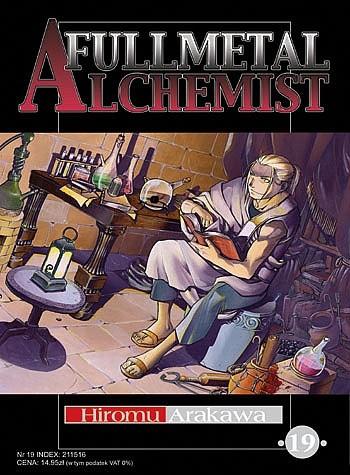 Okładka książki Fullmetal Alchemist t. 19