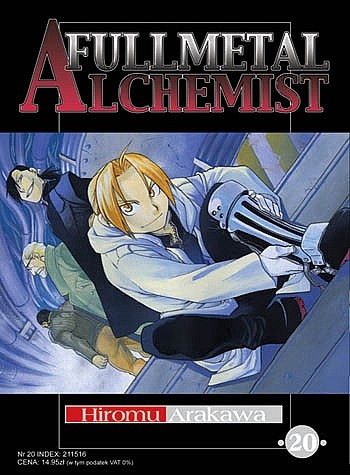 Okładka książki Fullmetal Alchemist t. 20