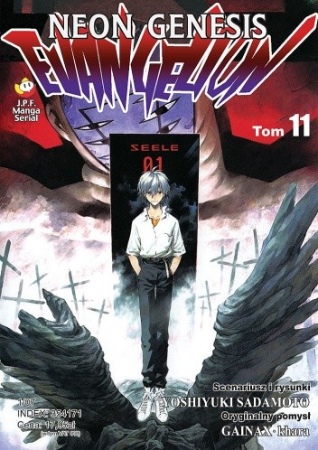 Okładka książki Neon Genesis Evangelion t. 11
