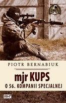 Okładka książki Mjr Kups o 56. Kompanii Specjalnej