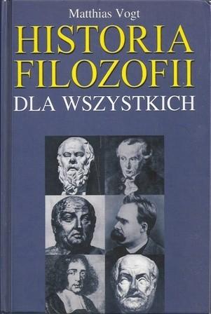 Okładka książki Historia filozofii dla wszystkich