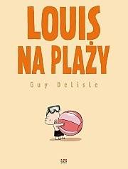 Okładka książki Louis na plaży