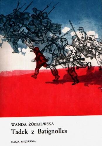Okładka książki Tadek z Batignolles