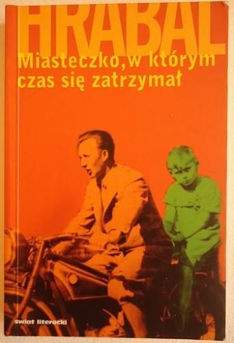 Okładka książki Miasteczko, w którym czas się zatrzymał