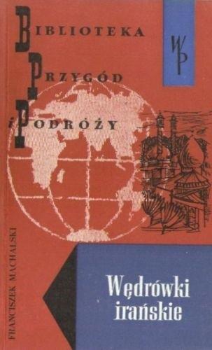 Okładka książki Wędrówki Irańskie