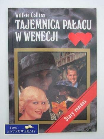 Okładka książki Tajemnica pałacu w Wenecji