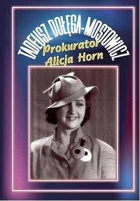 Okładka książki Prokurator Alicja Horn