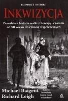 Okładka książki Inkwizycja. Prawdziwa historia walki z herezją i czarami od XII wieku do czasów współczesnych .