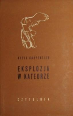 Okładka książki Eksplozja w katedrze