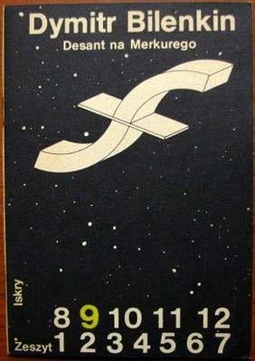 Okładka książki Desant na Merkurego