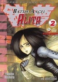 Okładka książki Battle Angel Alita 2. Żelazna dziewica