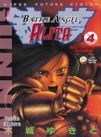Okładka książki Battle Angel Alita 4. Mężczyzna spowity w płomienie