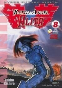 Okładka książki Battle Angel Alita 8. O wojnie Barjacka