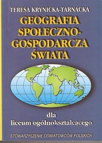 Okładka książki Geografia społeczno-gospodarcza świata