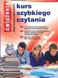 Okładka książki Kurs szybkiego czytania. Ćwiczenia