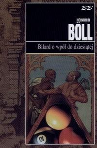 Okładka książki Bilard o wpół do dziesiątej