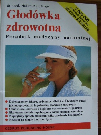 Okładka książki Głodówka zdrowotna. Poradnik medycyny naturalnej