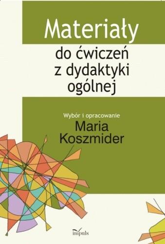 Okładka książki Materiały do ćwiczeń z dydaktyki ogólnej