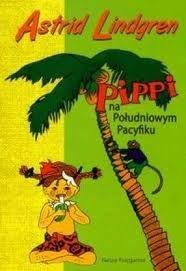 Okładka książki Pippi na Południowym Pacyfiku