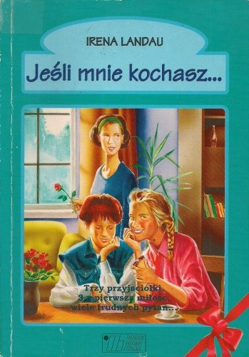 Okładka książki Jeśli mnie kochasz...