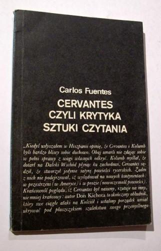 Okładka książki Cervantes czyli Krytyka sztuki czytania