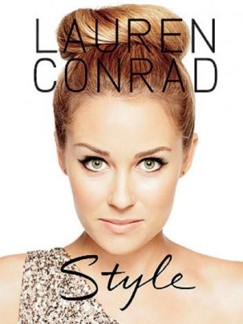 Okładka książki Lauren Conrad. Style