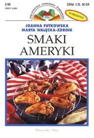 Okładka książki Smaki Ameryki
