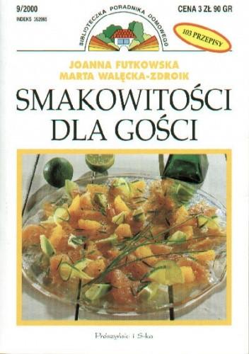 Okładka książki Smakowitości dla gości