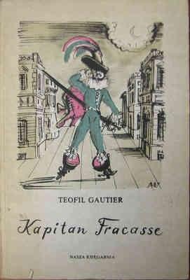 Okładka książki Kapitan Fracasse