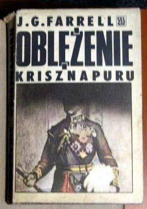 Okładka książki Oblężenie Krisznapuru