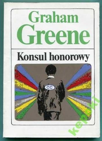 Okładka książki Konsul honorowy
