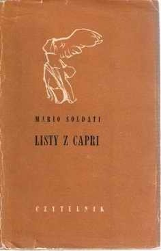 Okładka książki Listy z Capri