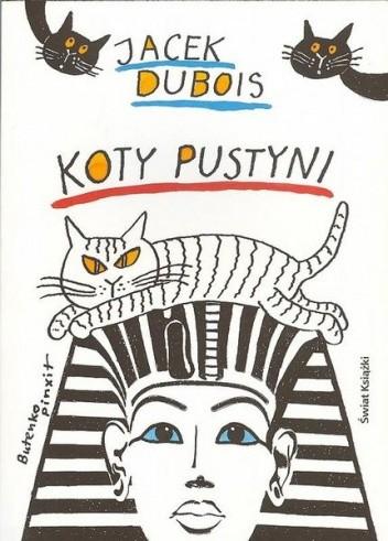 Okładka książki Koty pustyni