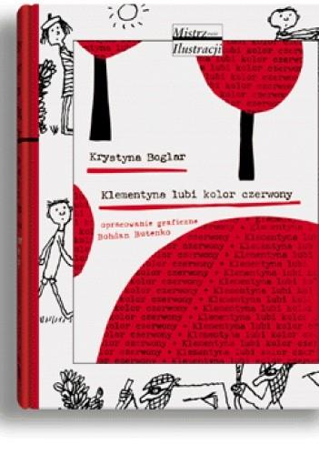 Okładka książki Klementyna lubi kolor czerwony