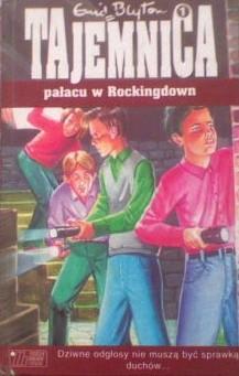 Okładka książki Tajemnica pałacu w Rockingdown