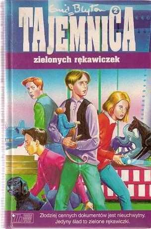 Okładka książki Tajemnica zielonych rękawiczek