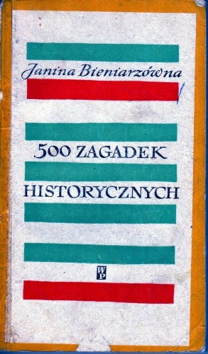 Okładka książki 500 zagadek historycznych