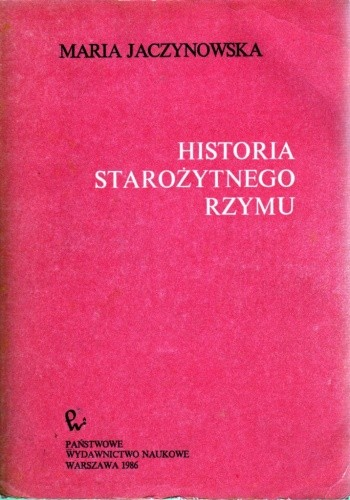 Okładka książki Historia starożytnego Rzymu