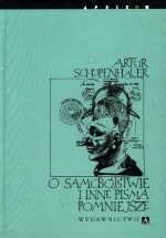 Okładka książki O samobójstwie i inne pisma pomniejsze