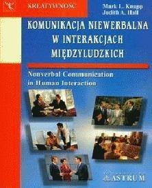 Okładka książki Komunikacja niewerbalna w interakcjach międzyludzkich
